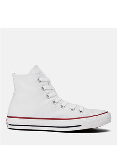 Unisex Chuck Taylor All Star Canvas Hi-Top Trainers - Optical White