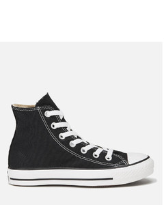 Unisex Chuck Taylor All Star Canvas Hi-Top Trainers - Black