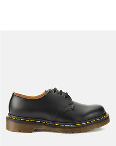 Originals 1461 3-Eye Smooth Leather Gibson Shoes - Black