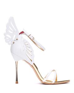 white classic faux fur trim snow boots