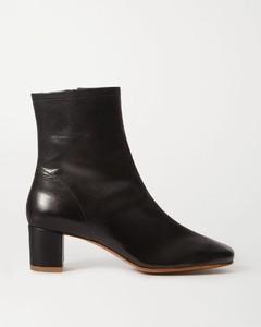 Sofia皮革踝靴
