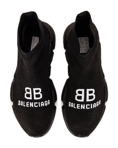 Recycle Speed Sneakers in Black
