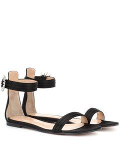 Portofino Flat緞布涼鞋