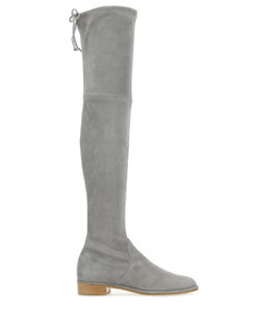 Grey suede Lowland boots