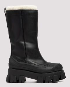 Monolith black boots