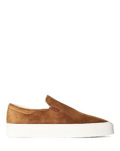 Marie H Slip On Sneakers in Brown