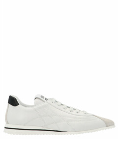 Stitching Detail Pointed Toe Sneakers