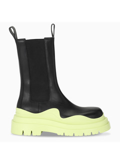 Black/yellow The Tire boots