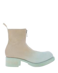Gradient Front Zip Boots