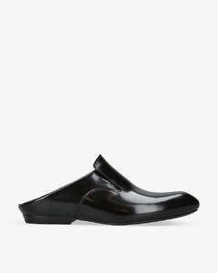 黑色Short Wedge Western踝靴