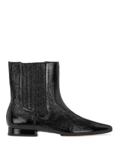 K-Line Soft Leather Mid Boots - Black