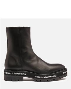 Women's Sanford Leather Chelsea Boots - Black