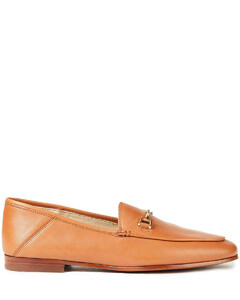 Woman Embellished Leather Loafers