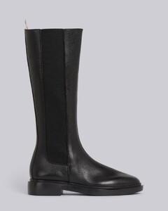 4条纹卵石纹皮切尔西靴