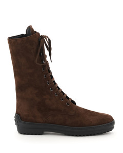SUEDE LEATHER REVERSED BOOTS