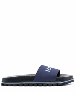 Smooth leather knee-high boots