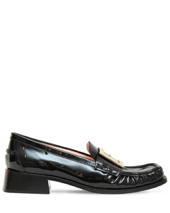 35mm Preppy Viv Patent Leather Loafers