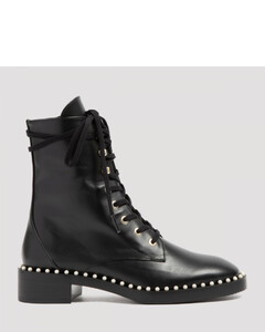 Embellished Military Boots
