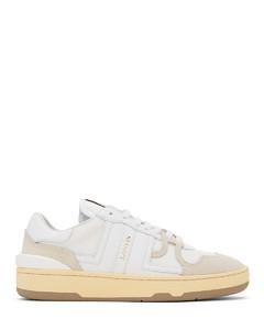 白色Clay运动鞋