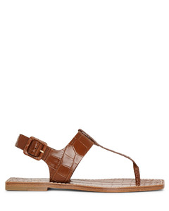 Cubongo flat leather sandals