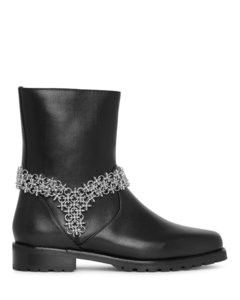 Marisco floral chain boots
