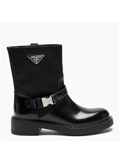 Black Chocolate low boots