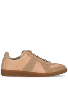 Panelled Low-Top Sneakers