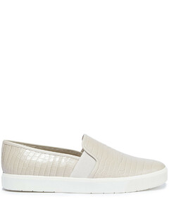 Woman Blair 5 Croc-effect Leather Slip-on Sneakers