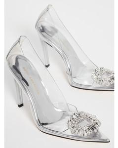 Cinderella珠宝镶嵌高跟鞋