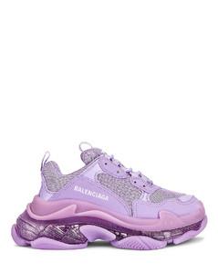 Triple S Sneakers in Purple