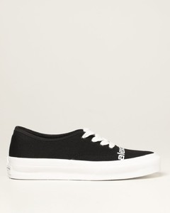 sneakers in canvas with logo