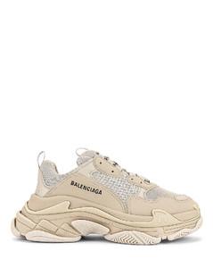 Triple S Sneakers in Beige