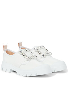 Walky Viv' Strass leather sneakers