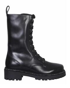 RenéCaovilla Rhinestone Embellished Combat Boots
