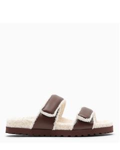 Brown Perni 11 Platform sandals