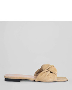 Women's Lima Suede Mules - Cappuccino