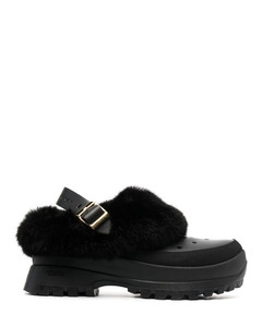 Gold leather Aleena slippers Nd Stuart Weitzman Donna