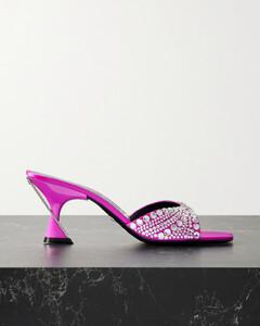 Black suede Moto-VS slippers Nd Suicoke Donna Uomo