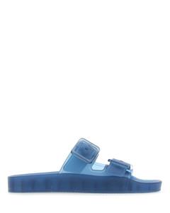Blue rubber Mallorca slippers Nd Balenciaga Donna