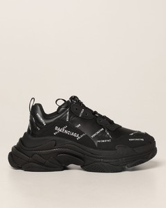 Triple S sneakers with all over logo