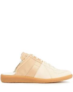 Woman Two-tone Satin Sneakers