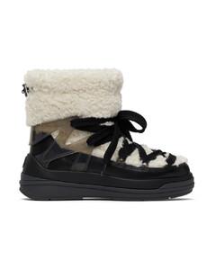 米色&黑色Insolux M踝靴