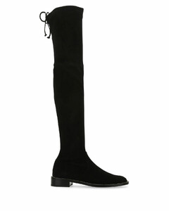 Black suede Lowland boots