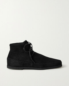 The High Top Suede Loafers