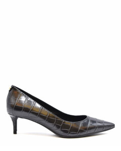 Woman Suede-trimmed Leather Sneakers