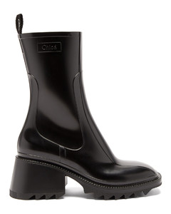 Betty heeled rubber boots