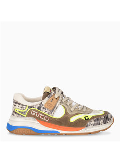 Fluo yellow woman Ultraplace sneakers