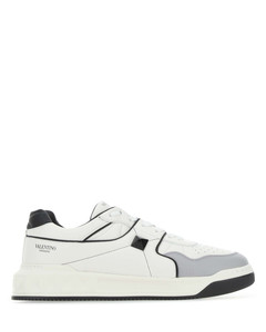 Multicolor nappa leather One Stud sneakers