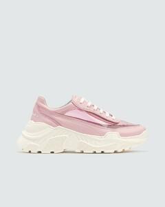 Zenith Pink PVC Sneakers