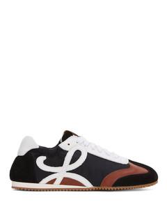 Leather Ballet Runner Sneakers